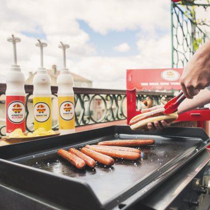 Idée de cuisson Barbecue Manhattan Hot Dog Pack Starter