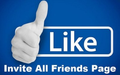 Code to Invite Invite ALL Friends to Like a Facebook Page