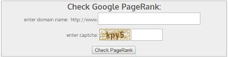 Check the Google Rank of Your Website
