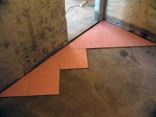 Укладка напольной плитки по диагонали пошаговая инструкция ...