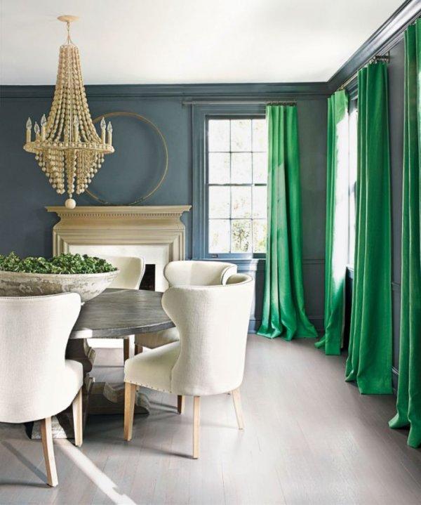 Шторы в комнату с серыми обоями – какие шторы подойдут для ...