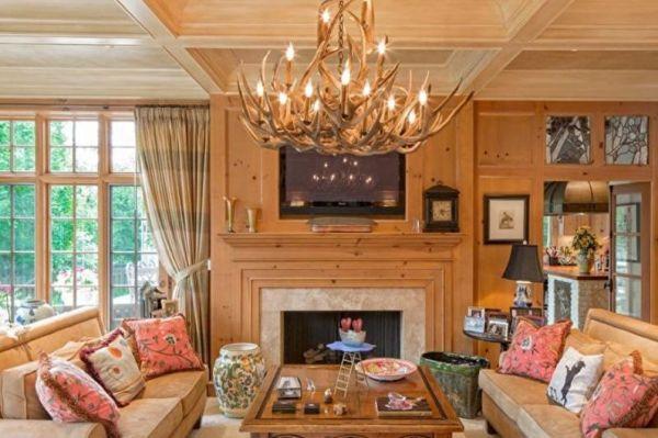 Интерьер гостиной фото в современном стиле в частном доме ...