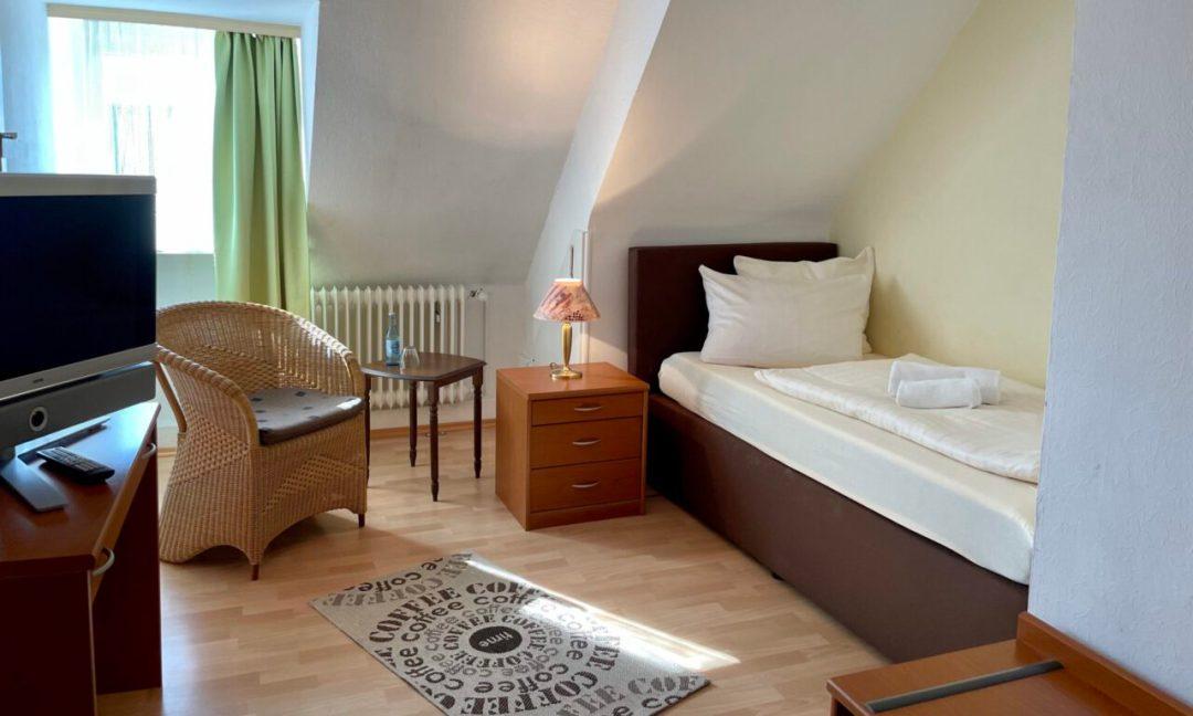 Junior-Suite: Wohn- und Schlafbereich