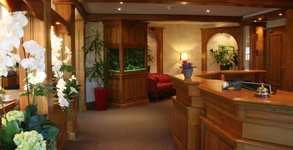 réception hôtel au relais de l'Ill