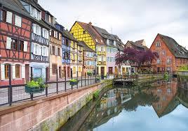 Alsace - les maisons typiques à colombages