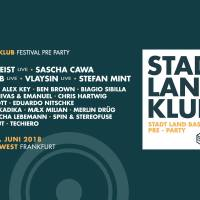 23-06-18 // Stadt Land Klub - Stadt Land Bass Pre Party 2018