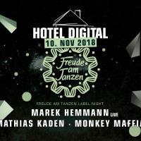 10.11.18 // Freude am Tanzen Label Nacht: Marek Hemmann // Mathias Kaden
