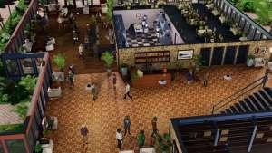 Hotel Simulator Lobby