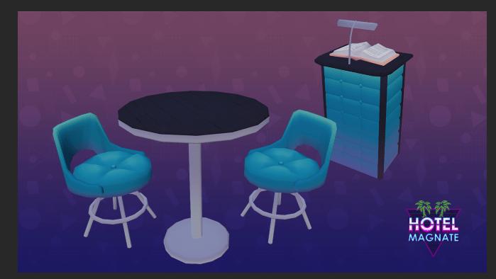 Restaurant Sim Table