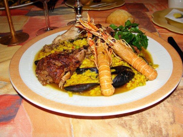 soirée paëlla restaurant le Saint Georges Quarré les Tombes