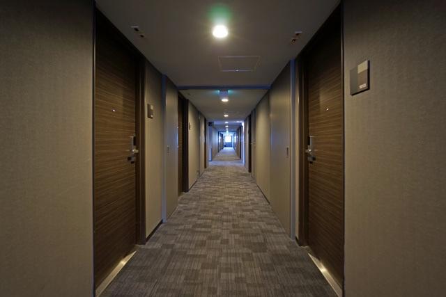 出島の湯ドーミーイン長崎_客室階廊下