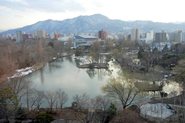 札幌パーク_ラウンジからの眺め