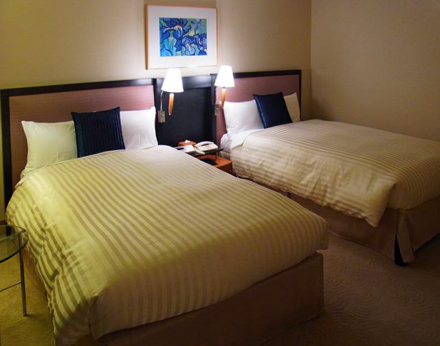 横浜ベイホテル東急_ベッド