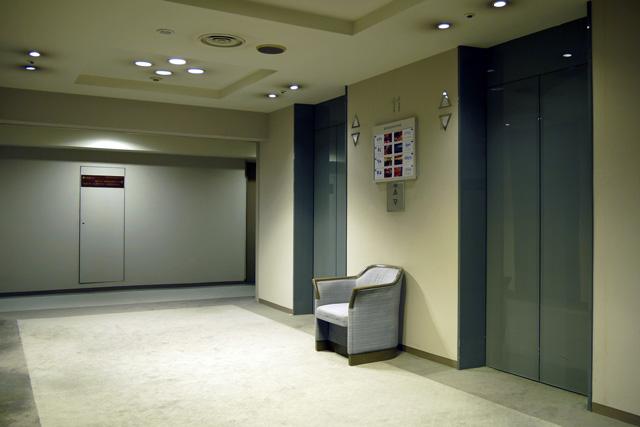 甲府富士屋ホテル_エレベーターホール