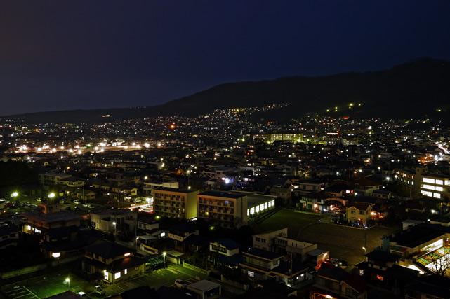 甲府富士屋ホテル_夜景