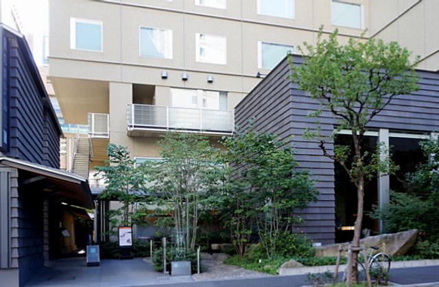 庭のホテル東京_外観