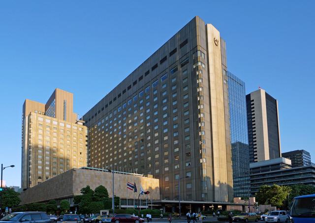 帝国ホテル東京宿泊記「本館・インペリアルフロア デラックスダブル」