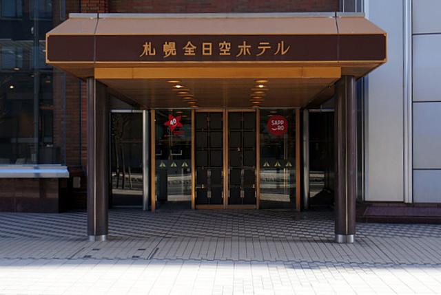札幌全日空ホテル_エントランス