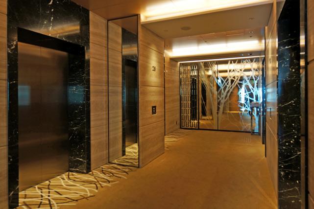 インターコンチネンタル大阪_エレベーターホール