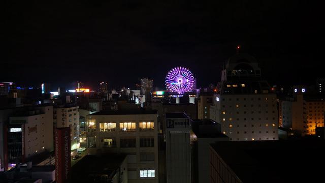 オークラ札幌_廊下からの眺め