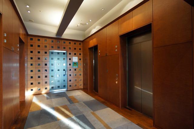 センチュリーサザンタワー_エレベーターホール