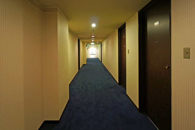 札幌グランドホテル_廊下