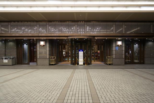 京都ホテルオークラ_エントランス