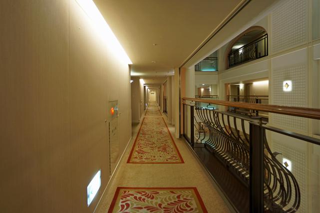 京都ホテルオークラ_廊下