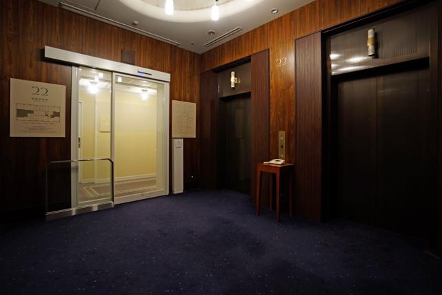 モントレエーデルホフ_エレベーターホール