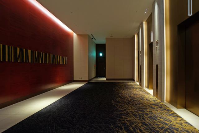 ウェスティンホテル仙台_エレベーターホール