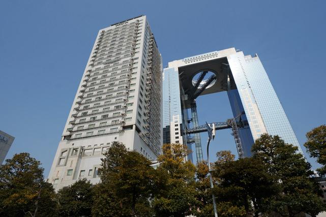 ウェスティンホテル大阪宿泊記「エグゼクティブ・ツイン」