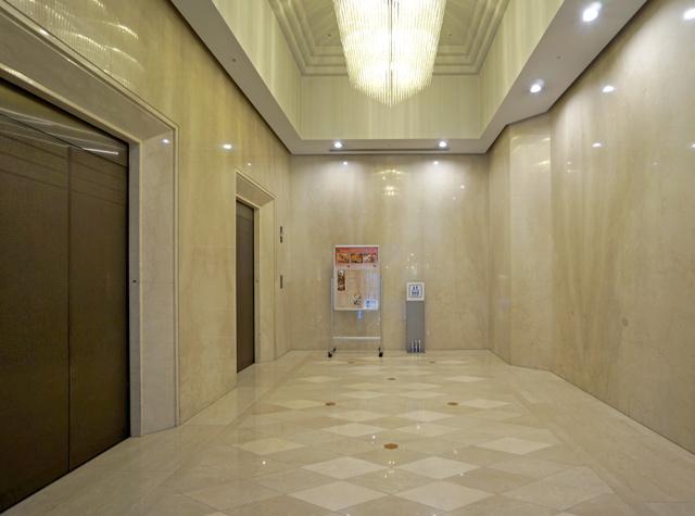 日航成田_別館エレベーターホール