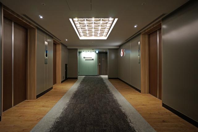 ザノット東京新宿_エレベーターホール