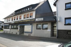 Eingang Landgasthaus Ströhmann