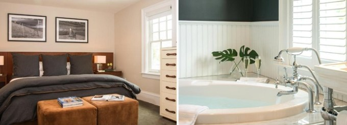 King suite with jetted tub in Kemble Inn, Lenox, Berkshire, MA hotel