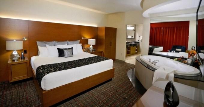 Hot Tub suite in Hard Rock Hotel & Casino Tulsa, OK