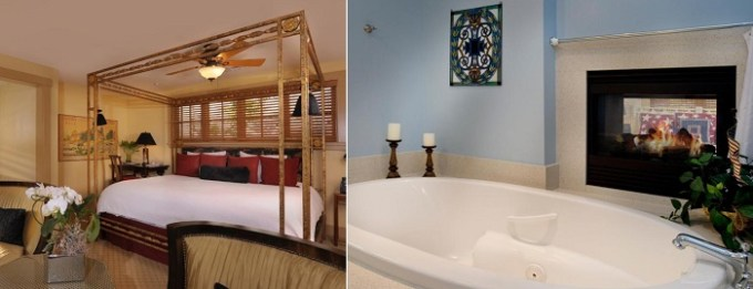 Suite with a whirlpool tub in 1906 Lodge, Coronado, San Diego
