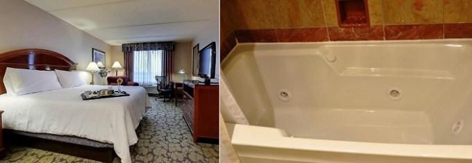 Whirlpool room in Hilton Garden Inn Houston Westbelt Hotel