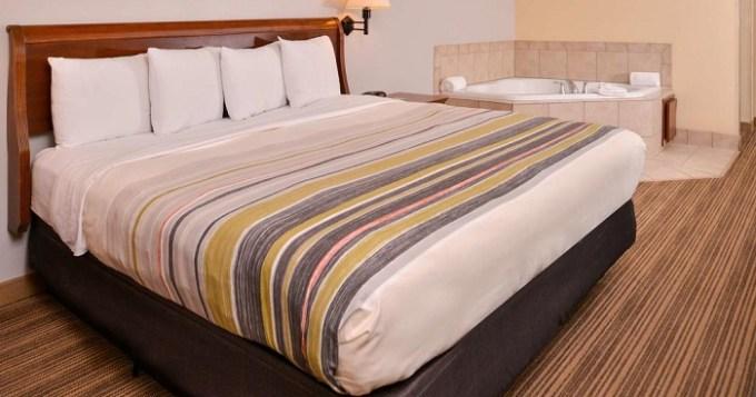 Whirlpool suite in Country Inn & Suites by Radisson, Omaha Airport, IA, Nebraska