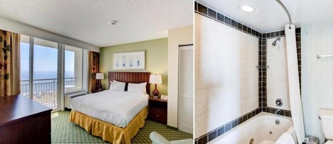 Hot Tub suite in Ocean Beach Club by Diamond Resorts, Virginia Beach, VA