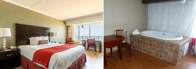 Oceanfront Hot Tub suite in Best Western Plus Sandcastle Beachfront Hotel, Virginia Beach, VA