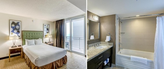 Oceanfront suite with a hot tub in Oceanaire by Diamond Resorts, Virginia Beach, VA