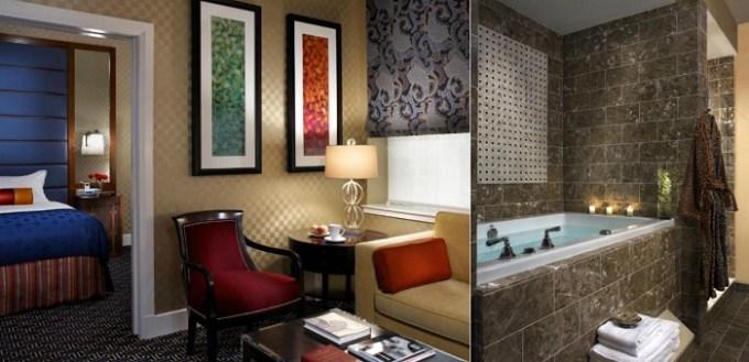 Suite with a Fuji tub in Kimpton Hotel Monaco Baltimore Inner Harbor, MD