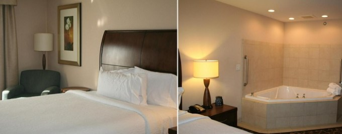 Hot tub room in Hilton Garden Inn Charlotte-Concord, NC