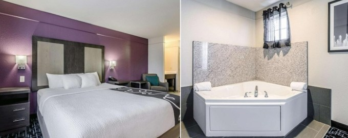 Suite with a hot tub in La Quinta by Wyndham Kansas City Airport