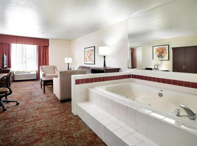 Hot Tub Suite in Crystal Inn Hotel & Suites - Salt Lake City, Utah