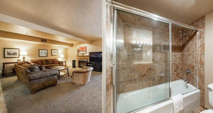 Suite with a spa bath in The Lodge at Mountain Village, Park City, Utah