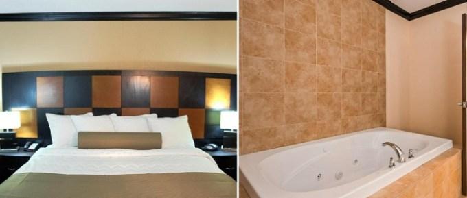 Suite with a whirlpool tub in Best Western Plus Airport Inn & Suites, Salt Lake City, Utah
