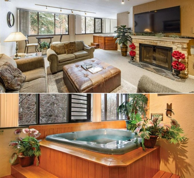 Suite with a whirlpool tub in Silver King, Park City, Utah