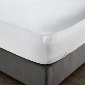 Sheraton 600TC Egyptian Cotton Fitted Sheet in White